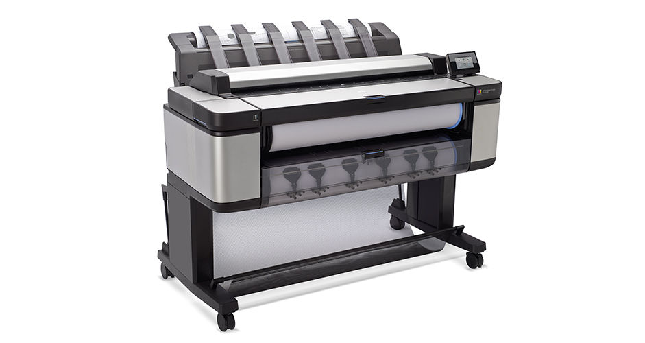 HP DesignJet T in Production Multifunction Printer